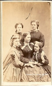This isn't actually The March family or anything, but it is a single mother with four daughters from the Civil War Era, SO IT BASICALLY IS THEM.