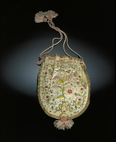 From the V&A collections. Made 1790-1800. http://collections.vam.ac.uk/item/O75165/bag-unknown/